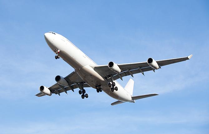Jumbo Passenger Jet