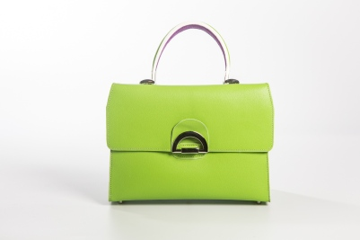 Beau-Satchelle-Michelle-in-green-runway-edition-handbag-spring-2017
